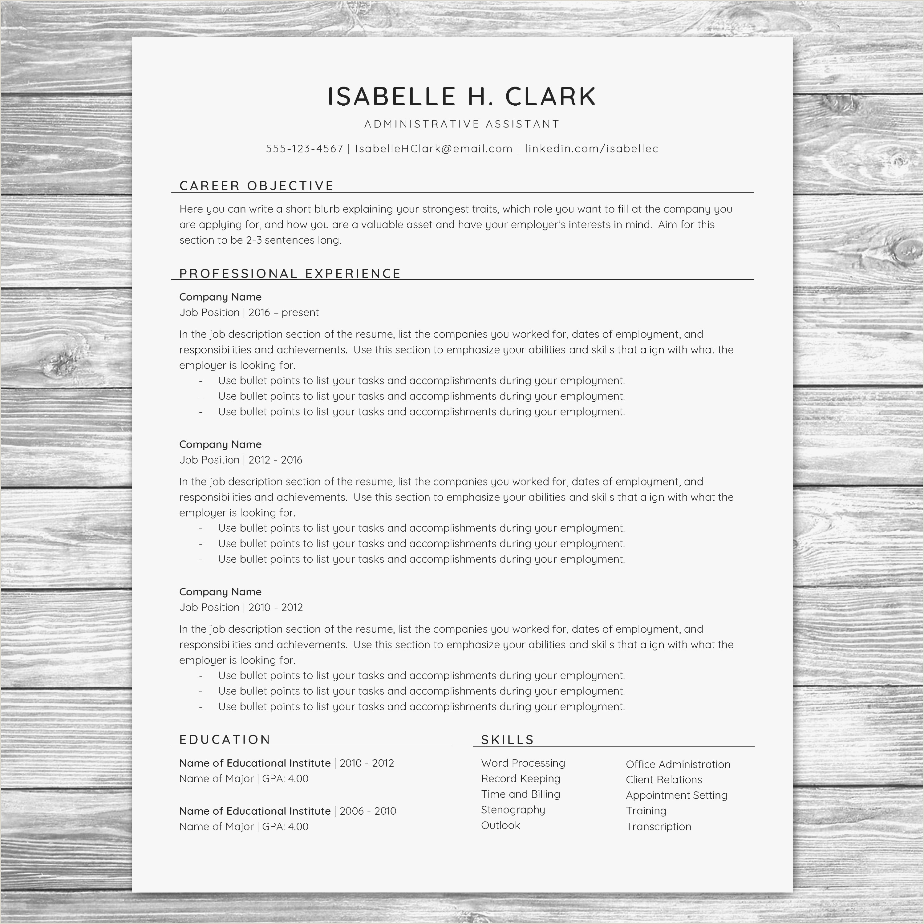 Resume Objective Examples Accounting Assistant Valid Sample