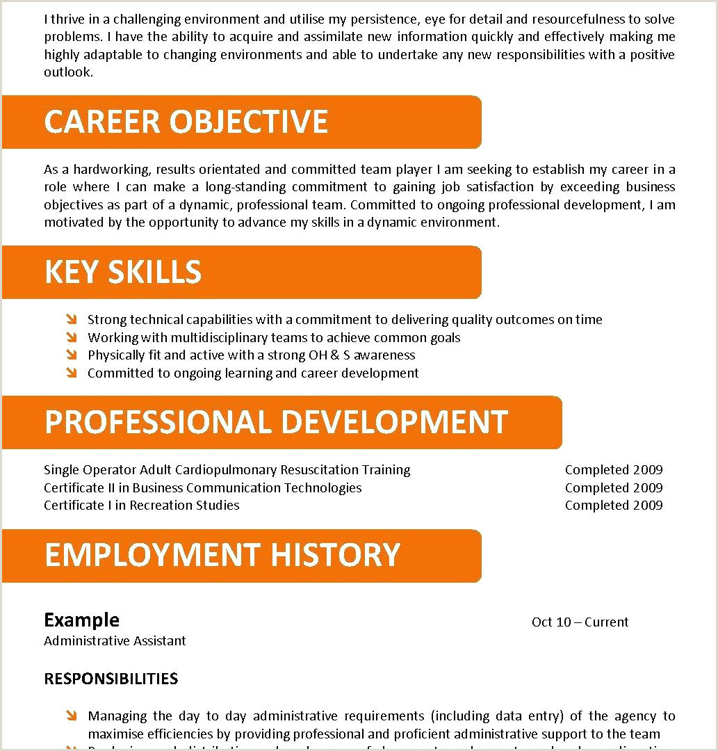 Entry Level Technical Support Resume Luxury Sample Resume