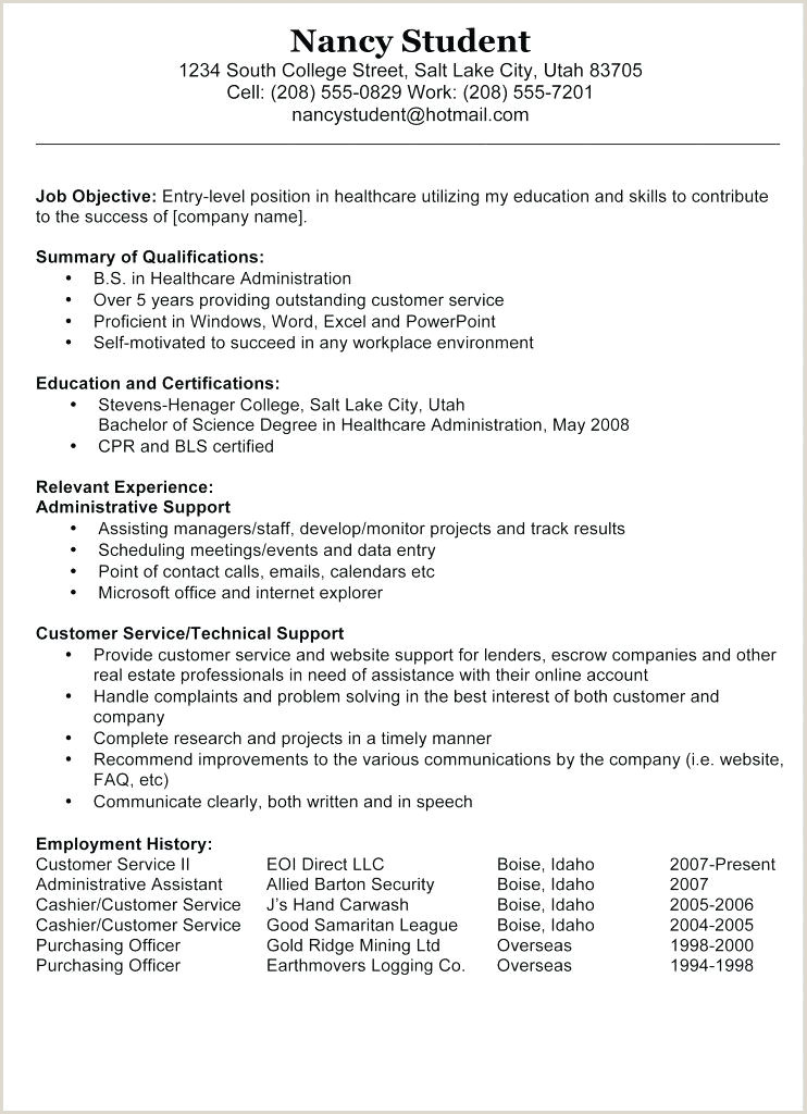 Resume for Call Center without Experience Call Center Resume Template