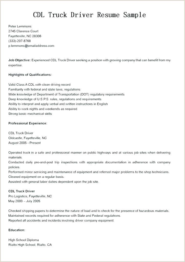 cdl truck driver job description for resume – restlessassets