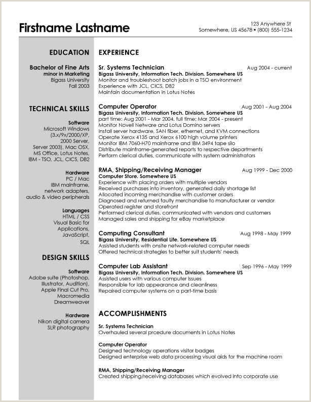 Resume for Child Care Child Care Resume Skills Luxury Child Care Resume Examples