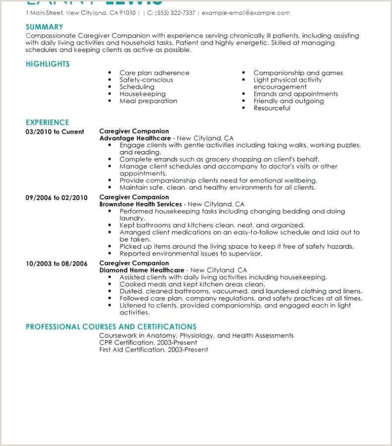 7 8 childcare educator resume
