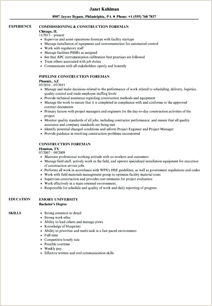 construction superintendent resume templates – growthnotes