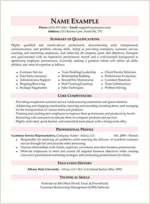 25 Unique Stock Customer Service Sales Resume