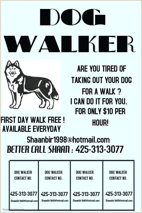 Resume for Dog Walker Dog Walking Website Templates Free Walker Business Template Log