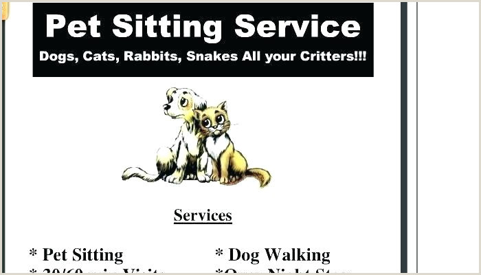 Resume for Dog Walker Pet Sitting Template – Bellaroo