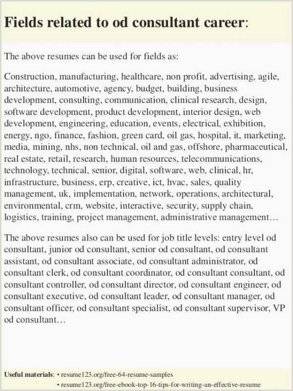 39 Resume format for Manager Operations