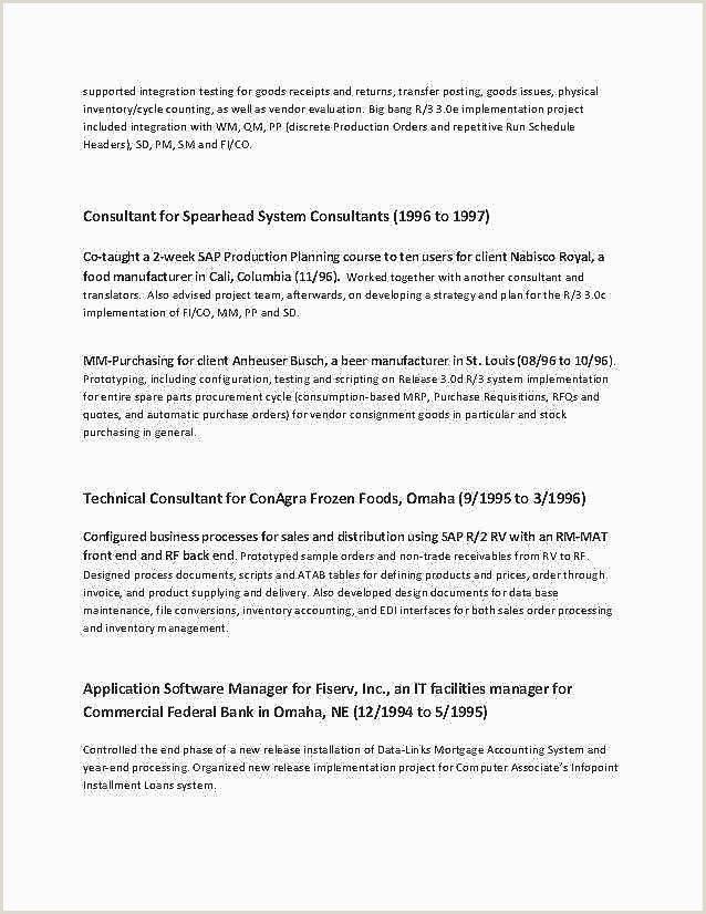 Resume for Facility Manager Cv Poste Mercial Gratuit 17 Unique Resume for Job