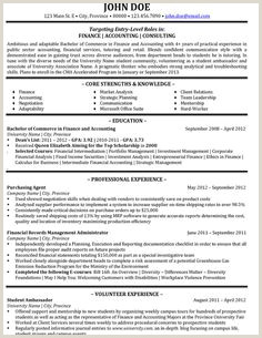 8 Best Consultant Resume Templates & Samples images