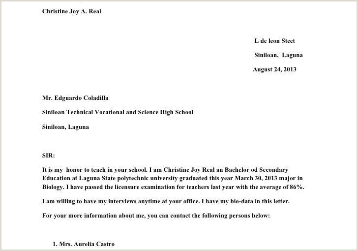 Fresher Teacher Resume Cover Letter Awesome Motivation