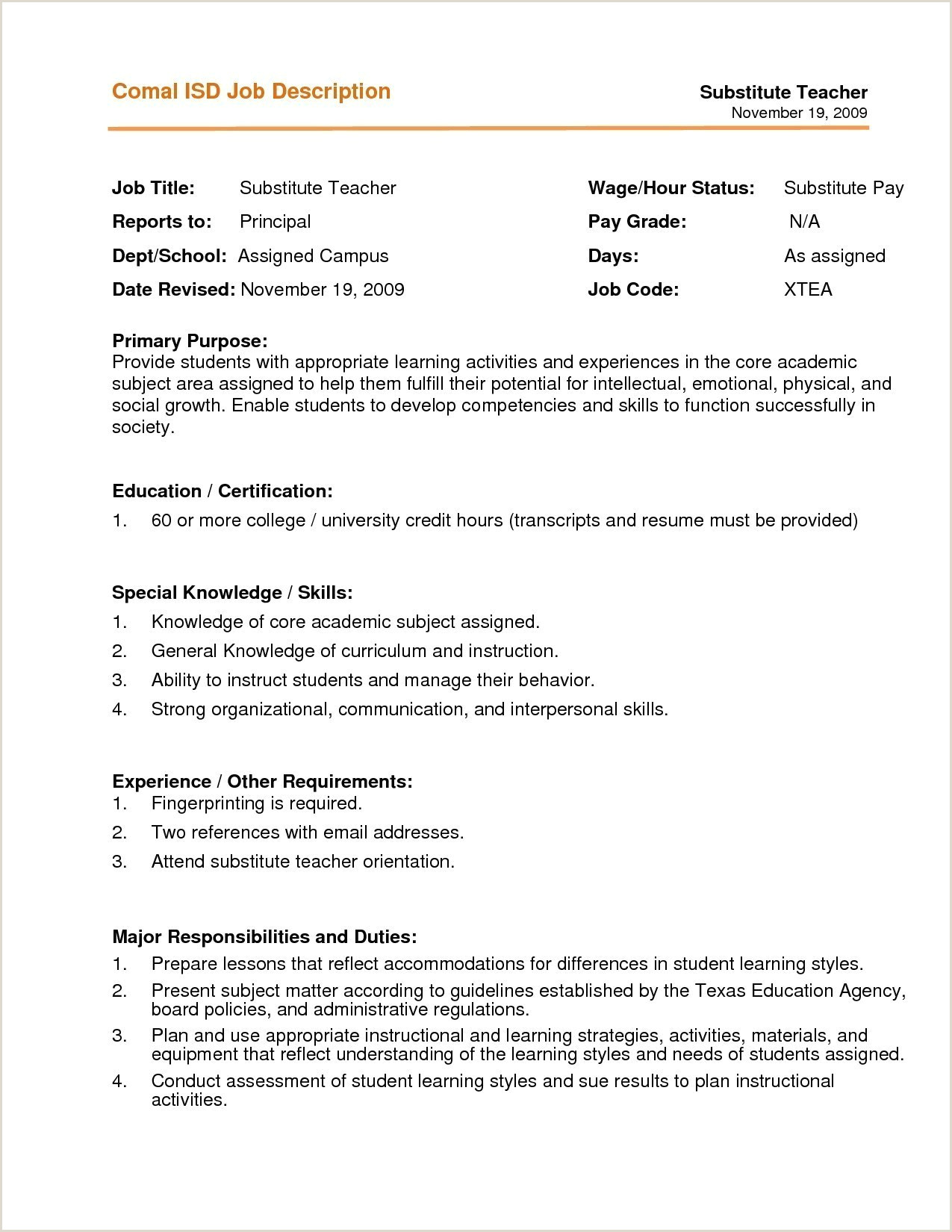 Teaching Jobs Resume Professional Sample Resume for Teachers