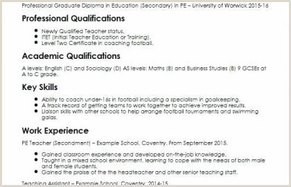 Kindergarten Teacher Job Description Resume for Teacher