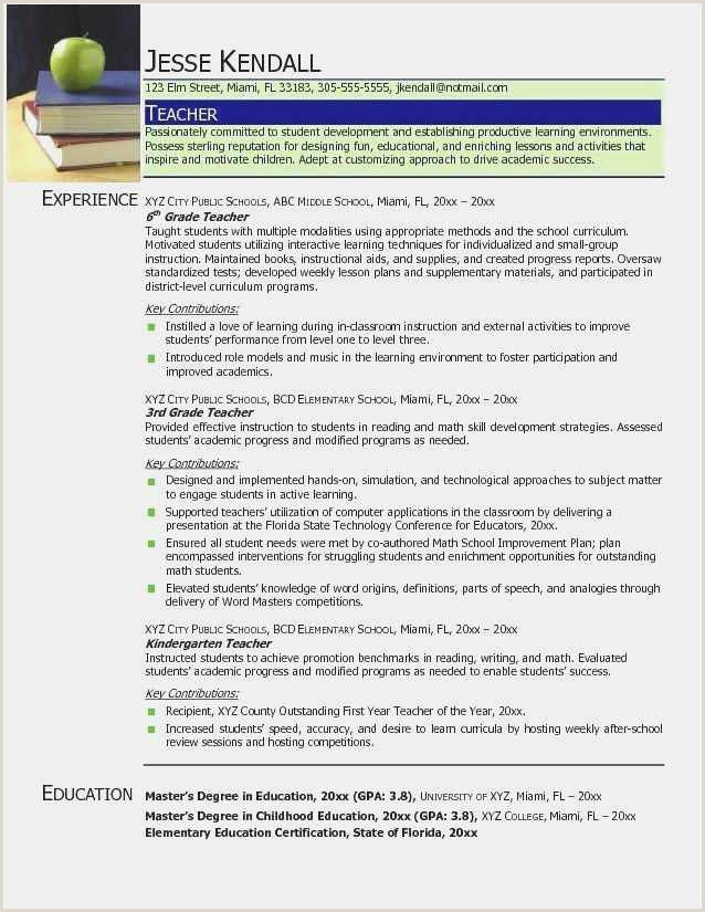 Resume for Maths Teacher Free Resume Vita Simple
