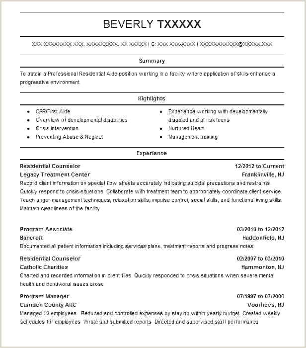 Resume for Mental Health Counselor Mental Health Counselor Resume Best Counselor Resume 0d