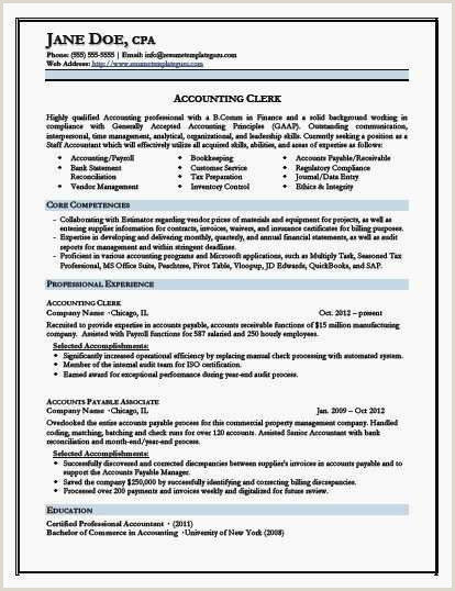 Accounting Resume Examples Examples Purchasing Technician