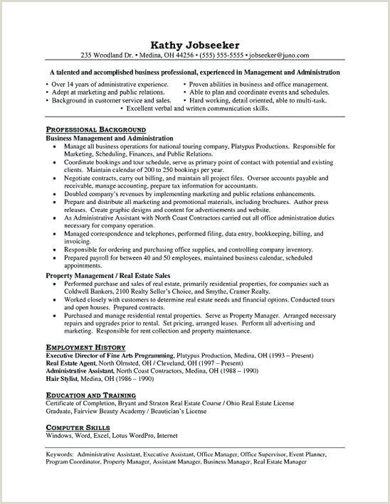 Resume for Real Estate Agents 25 Sample Realtor Resumes Samples