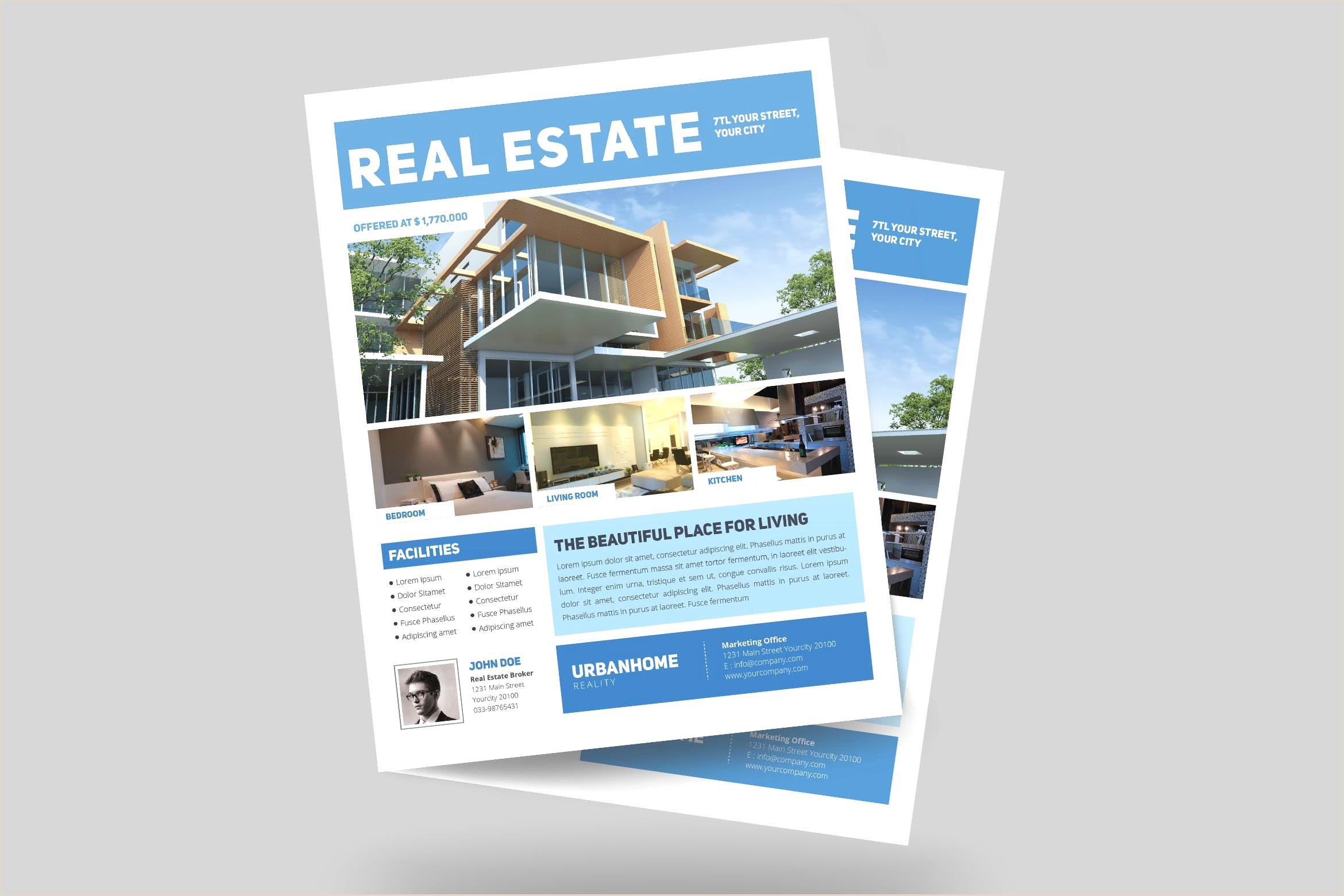 Real Estate Powerpoint Presentations Casual Minimal Real