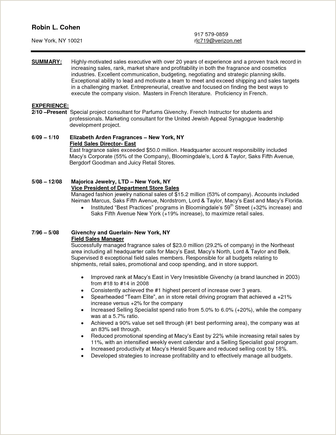 80 New Resume Example for Car Sales Consultant