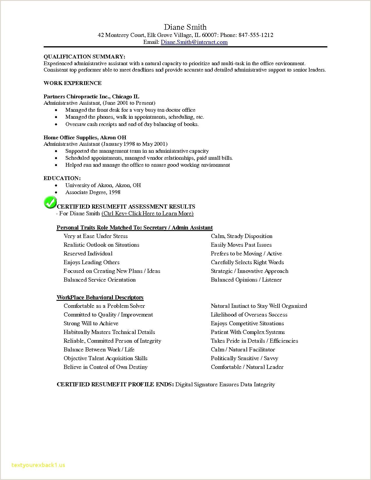 Resume for Secretary Creative Resume Sample Examples Free Creative Resume