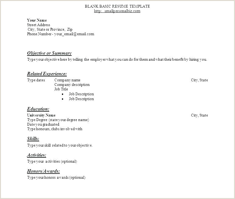 Resume for Teaching Job Fresher Simple Resume format for Freshers – Wikirian