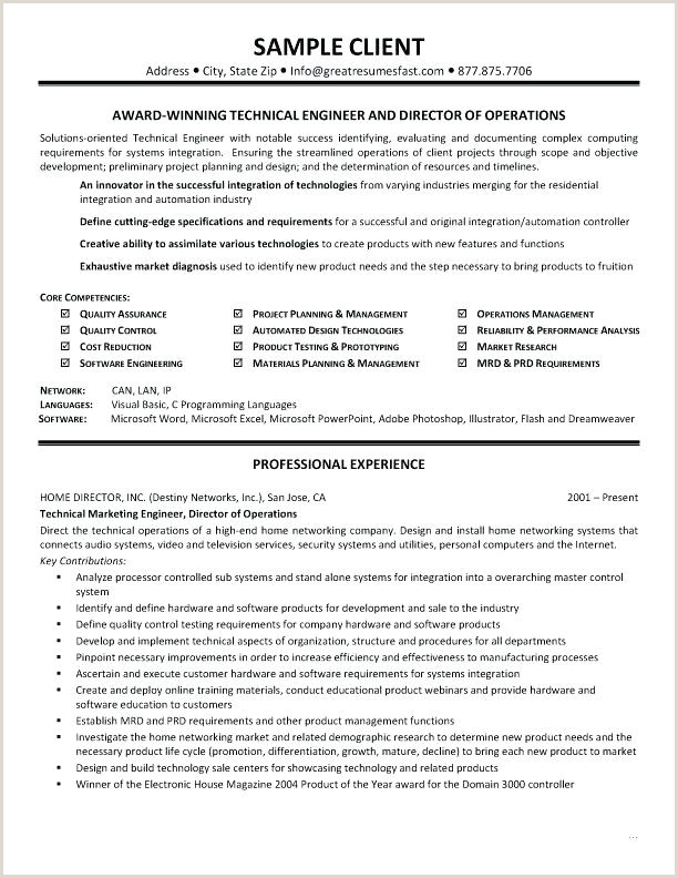 Resume Format Download In Ms Word For Fresher Mechanical Engineer Resume Templates For Technology Jobs Template Technical