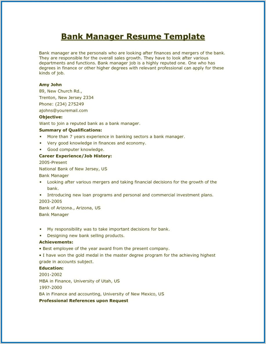 Cv format pdf india