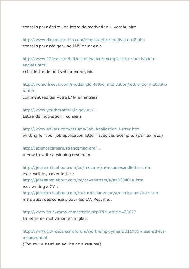 Resume format for Applying A Job 55 Lettre Cv Gratuit