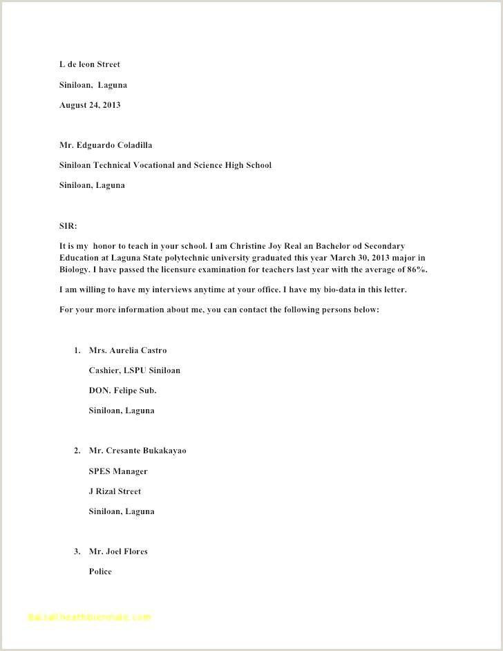 Resume format for Applying Job Abroad 40 Elegant Any Resume Stock