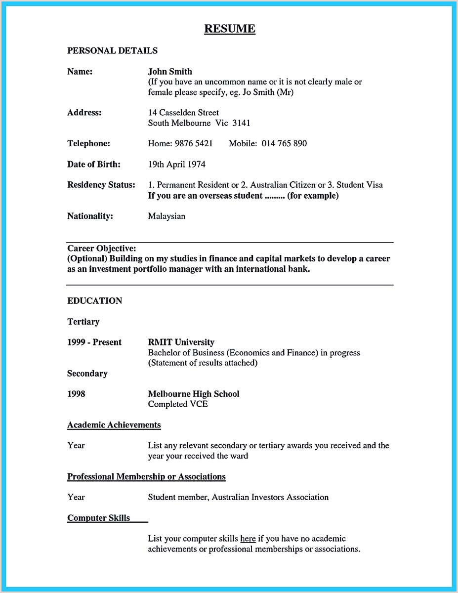 Resume format for Bank Job Fresher Pdf Awesome E Of Re Mended Banking Resume Examples to Learn