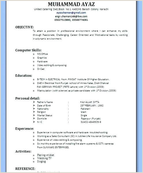 Resume format for Bank Job Pdf Download Free Resume Templates Pdf – Growthnotes