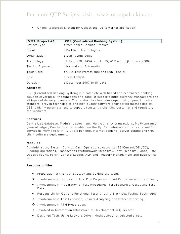 Resume format for Bank Job Pdf Short Resume format – Pohlazeniduse