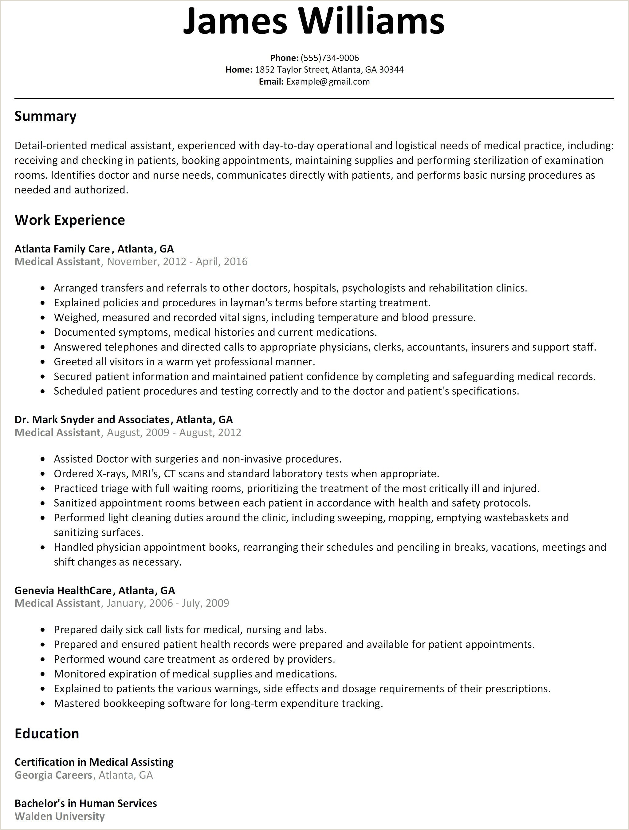 25 Free Operations Manager Resume Sample Pdf