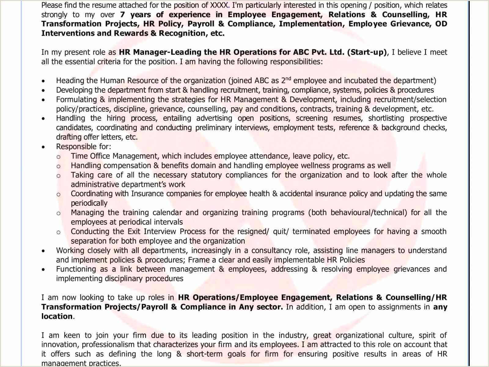 Resume format for Ca Job Cover Letter for Management Position New Cfo Resume Template