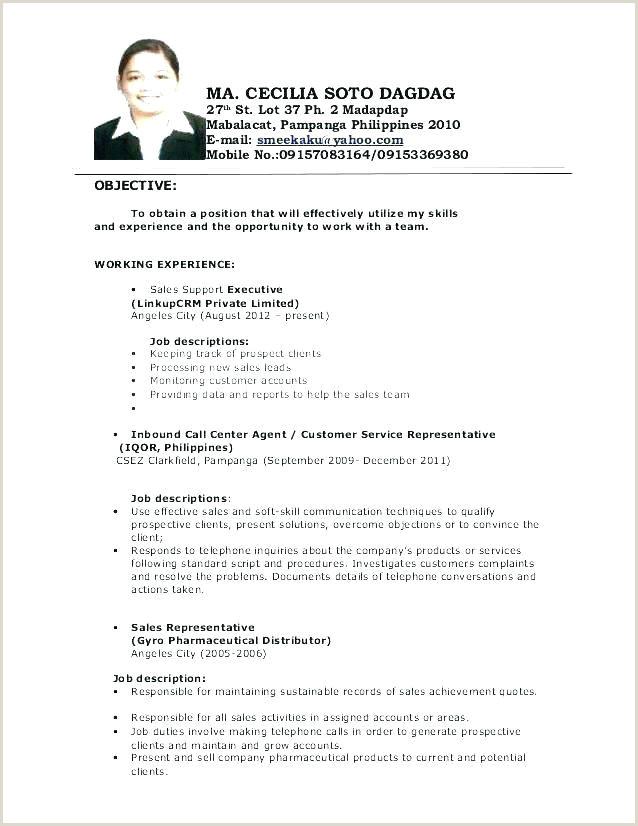 Inbound Call Center Job Description for Resume Customer