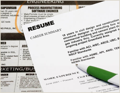 Resume Format For Company Job 30 Basic Resume Templates