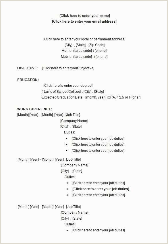 Resume format for Company Job Cv format – Page 3
