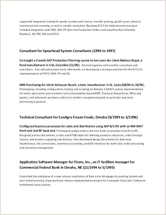 40 Inspirational Fresher Resume for It Jobs