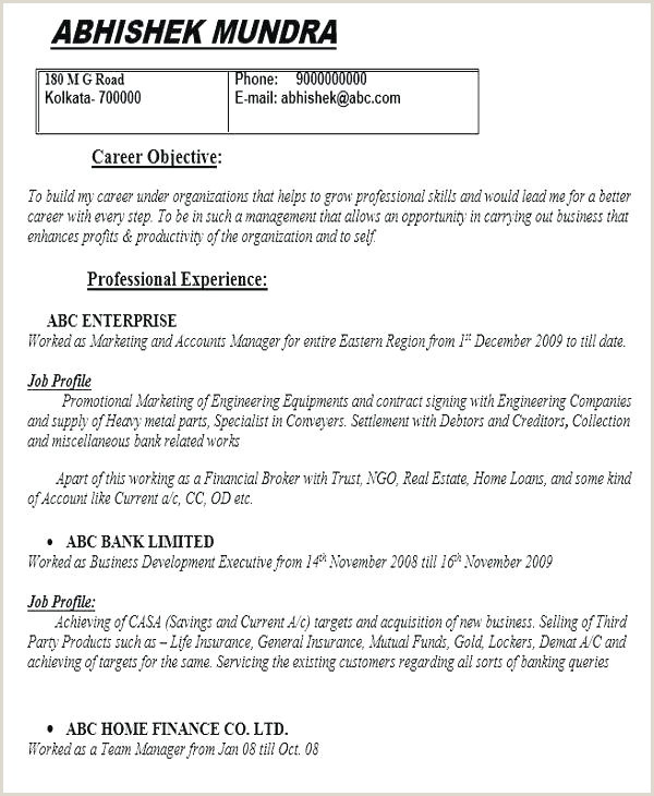 Resume format for Government Job In India Quality Engineer Resume Sample – Wikirian