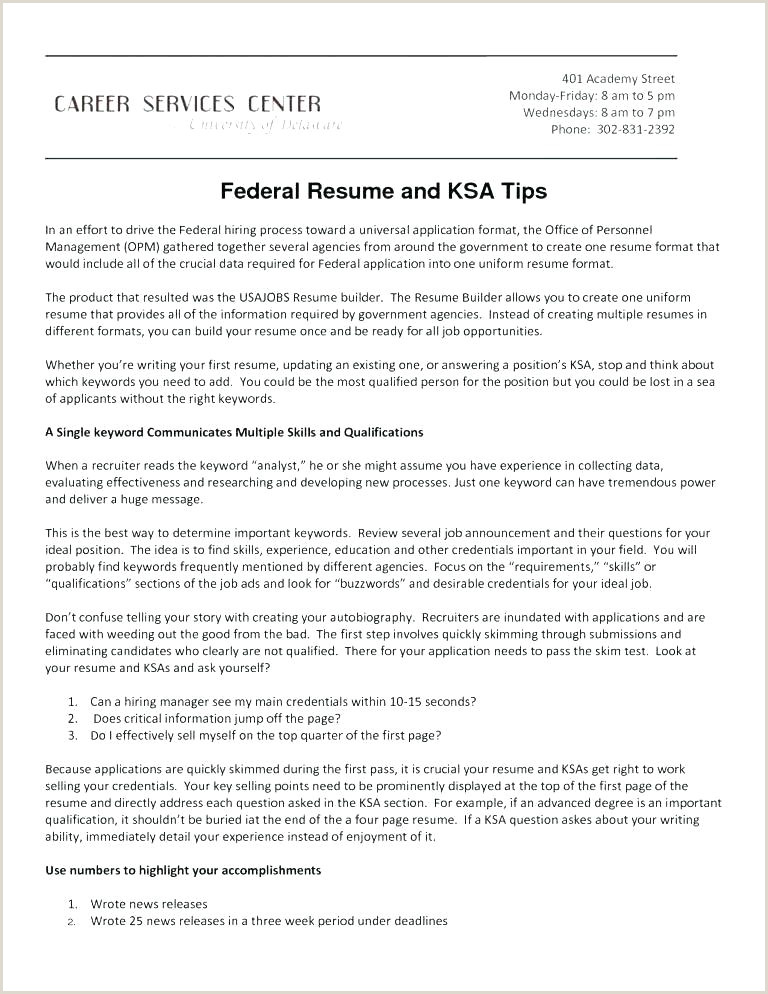 Resume format for Government Job Pdf Federal Job Resume Builder – Thrifdecorblog