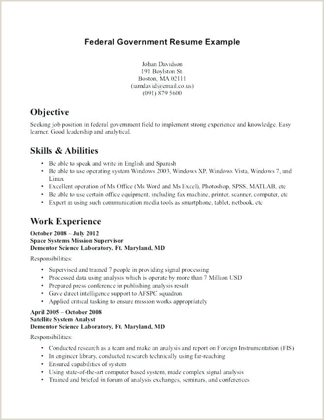 Resume Format For Government Job Philippines Resume For Government Job – Joefitnessstore