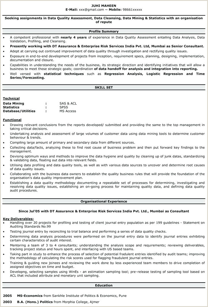 Resume format for Government Job Philippines Sample Job Resume format – Emelcotest