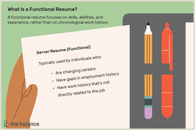 Resume format for Government Job Philippines What is A Functional Resume