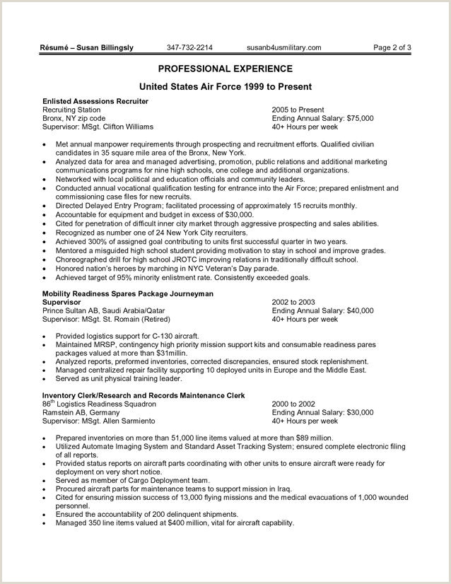 Resume format for Govt Job Best Government Resume Samples are You Thinking About