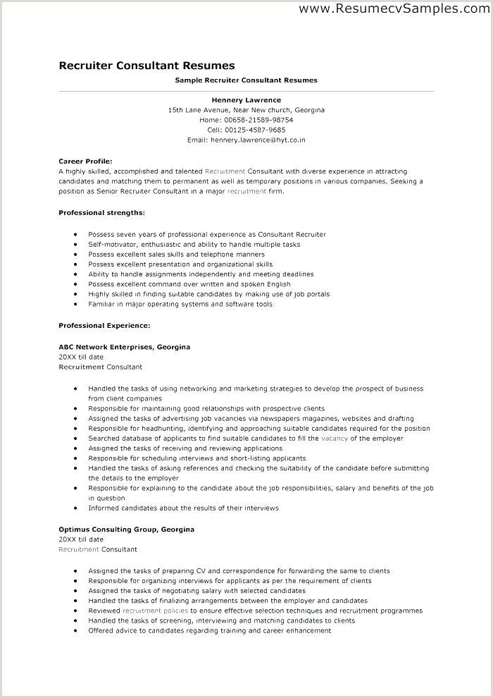 recruiting resume examples – wikirian
