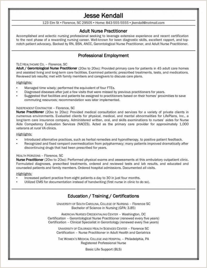 Resume Format For Hospital Job Best Nursing Resume Template Sample Student Guide For New Rn