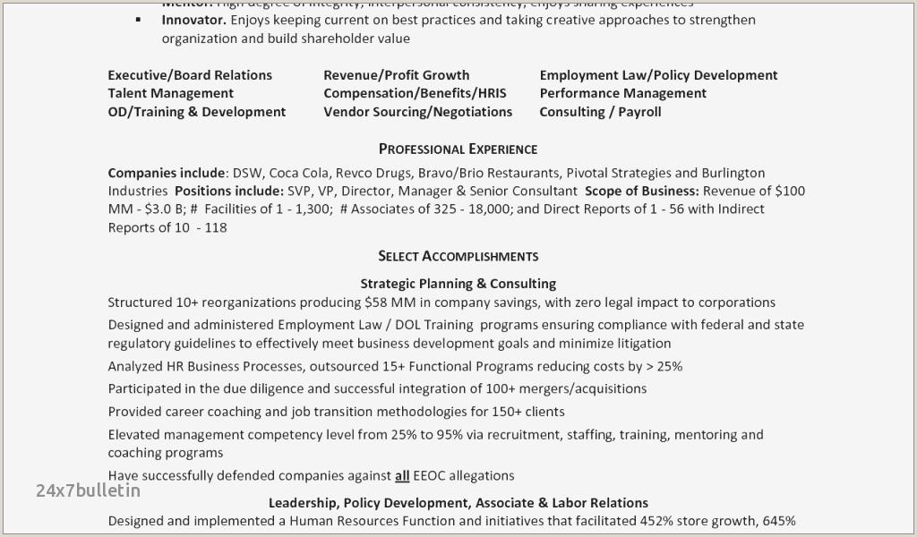 Resume Format For Hospital Job Hospital Housekeeping Job Description For Resume Sample