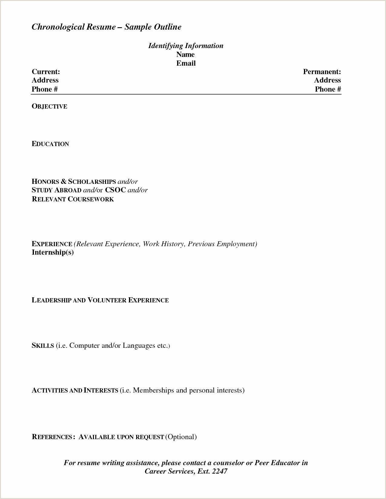 Unique Best Example Resume format