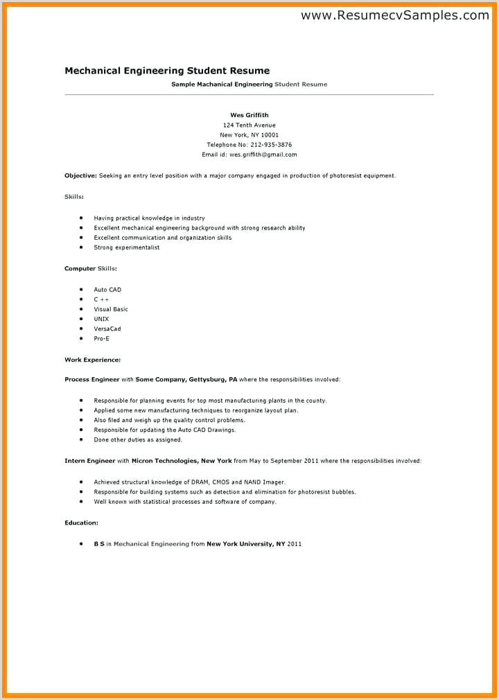 Resume format for Job Application First Time Pdf First Job Resume Sample – Growthnotes