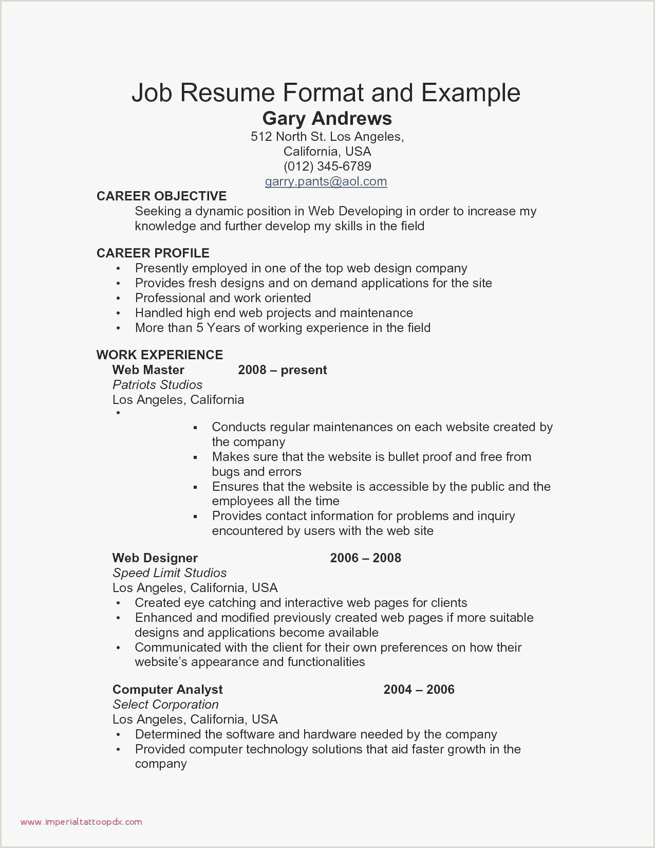 Hairstyles Professional Resume Examples Wonderful Creative