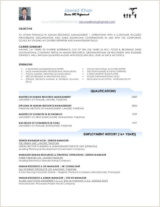Resume Format For Job B.com Cv Format Paysage Impressionnant 68 Unique S Example Resume